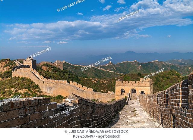 The Great Wall at Jinshanling, China