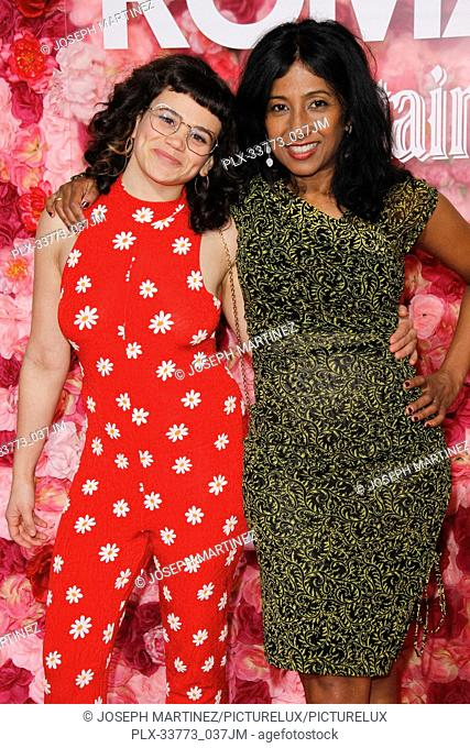 """Sandy Honig, Shonali Bhowmik at Warner Bros. Pictures' """"""""Isn't It Romantic"""""""" Premiere held at The Ace Hotel in Los Angeles, CA, February 11, 2019"""
