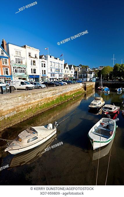 England Devon Dartmouth Quay