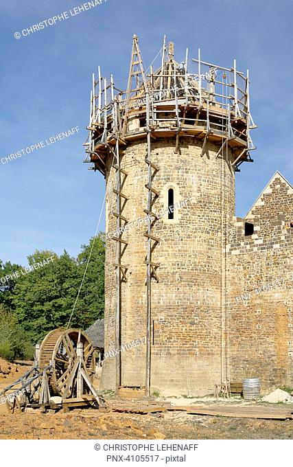 Guedelon castle Stock Photos and Images | age fotostock