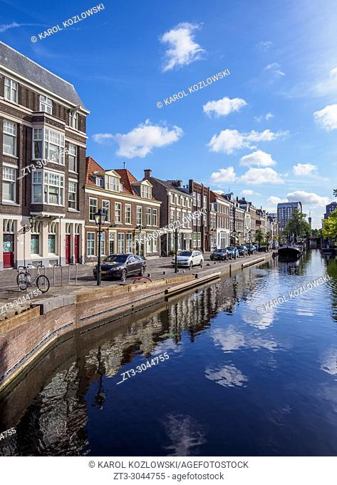 Zuidwal Canal, The Hague, South Holland, The Netherlands