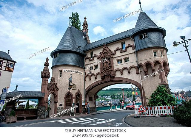 Town gate, Trarbach, Germany