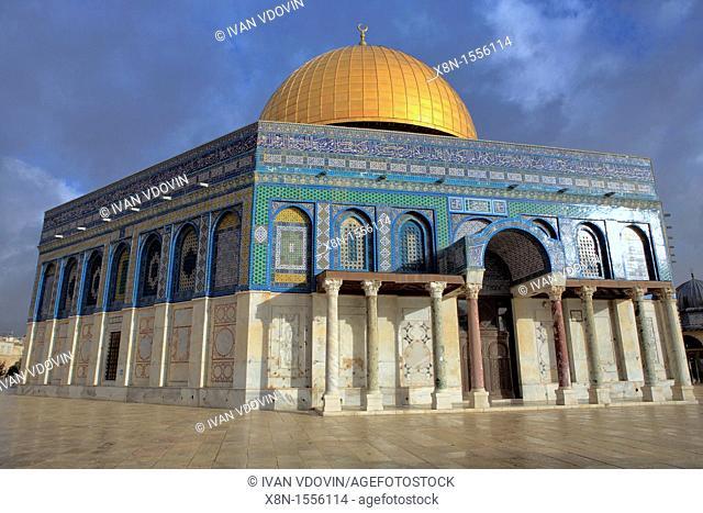 Dome of the Rock 685-691, Jerusalem, Israel