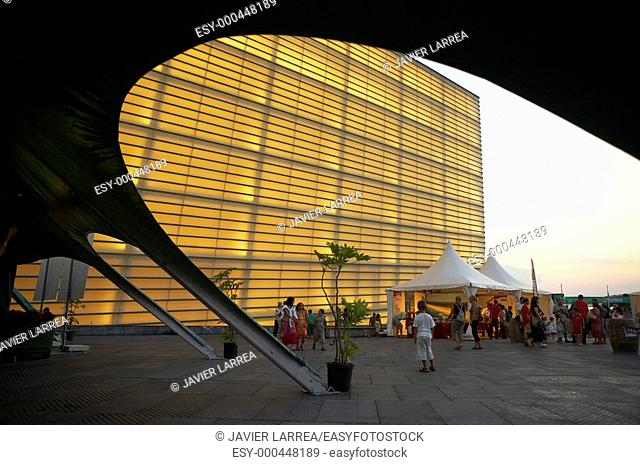 Centro Kursaal, Arquitecto: Rafael Moneo, Festival de Jazz, Donostia, San Sebastian, Gipuzkoa, Euskadi