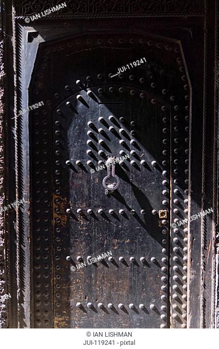 Traditional doorway in Marrakech