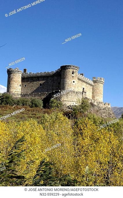 Castle, Mombeltrán. Ávila province, Castilla-León, Spain