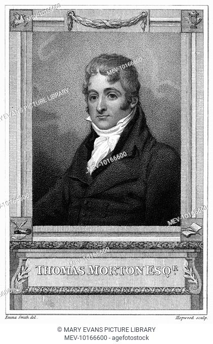 THOMAS MORTON Prolific playwright for the London stage ; also a keen cricketer at Lords