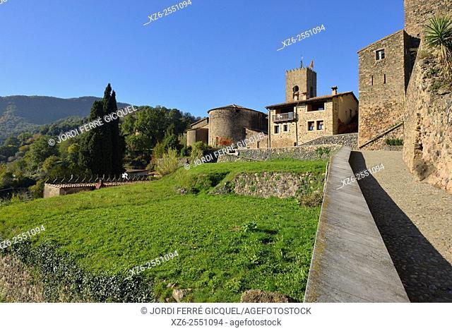 Santa Pau, La Garrotxa, Catalonia, Spain, Europe