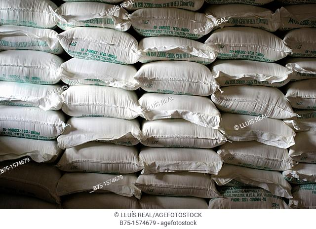 Store, India, Asia, Asia, Flour Sacks