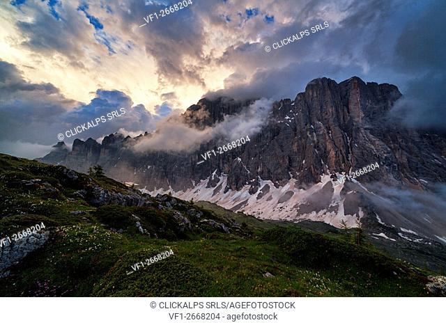 Civetta Mount, Eastern Dolomites, Alleghe, Belluno, Veneto, Italy