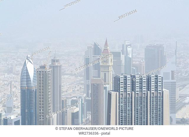 United Arab Emirates, Dubai, view of Dubai