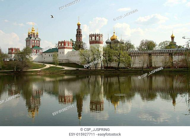 Novodevichiy Convent in Moscow