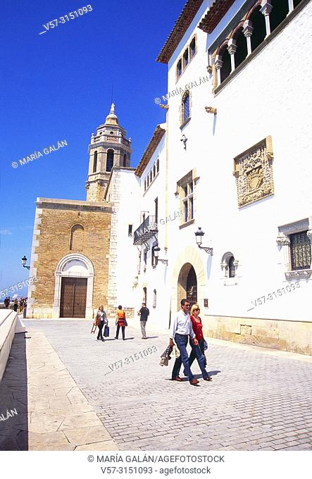 Maricel Museum. Sitges, Barcelona province, Catalonia, Spain