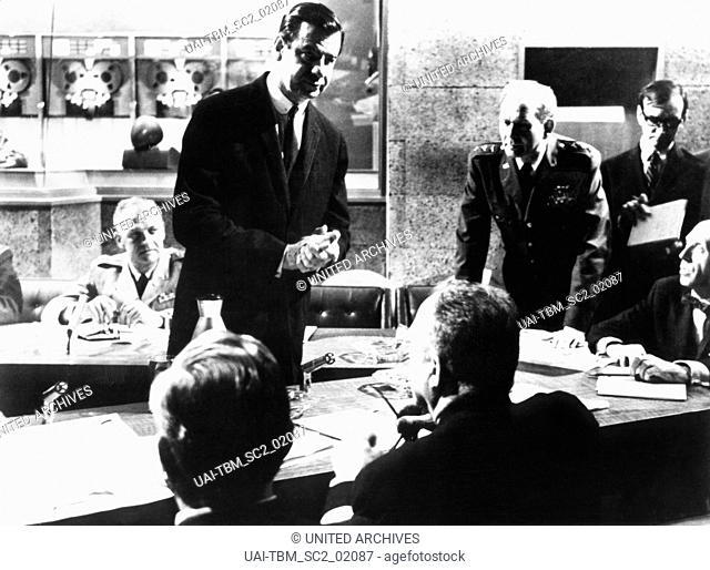 Fail Safe, aka: Angriffsziel Moskau, USA 1964, Regie: Sidney Lumet, Darsteller: Walter Matthau