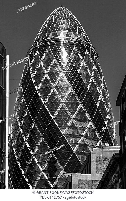 30 St Mary Axe (The Gherkin), London, England