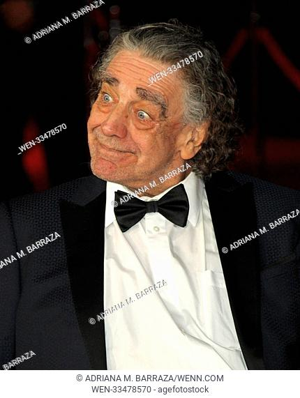 'Star Wars: The Last Jedi' - Premiere held at the Shrine Auditorium in Los Angeles Featuring: Peter Mayhew Where: Los Angeles, California