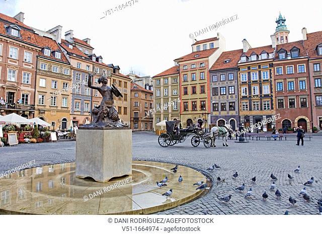 Warsaw, Warszawa, Poland, Nowe Miasto, Rynek Starego
