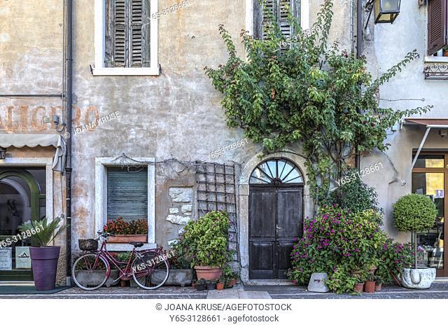 Lazise, Veneto, Lake Garda, Italy, Europe