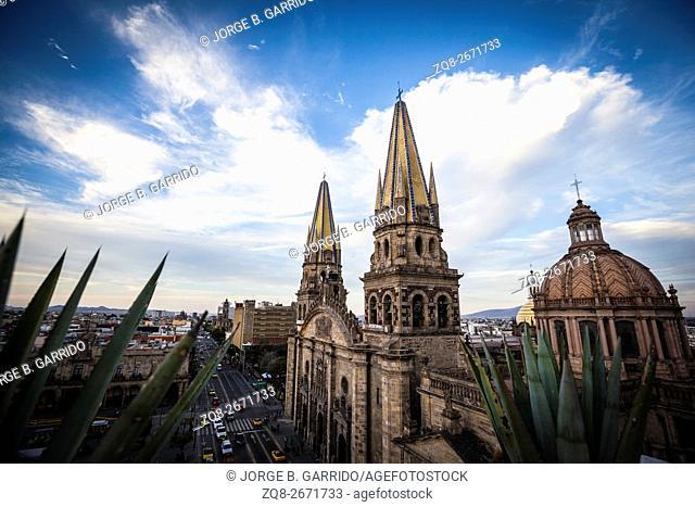 Guadalajara, Mexico. Main Cathedral