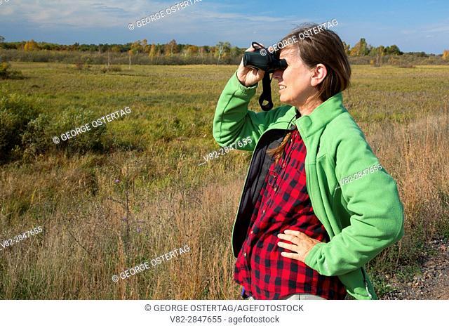 Birding, Crex Meadows Wildlife Area, Wisconsin