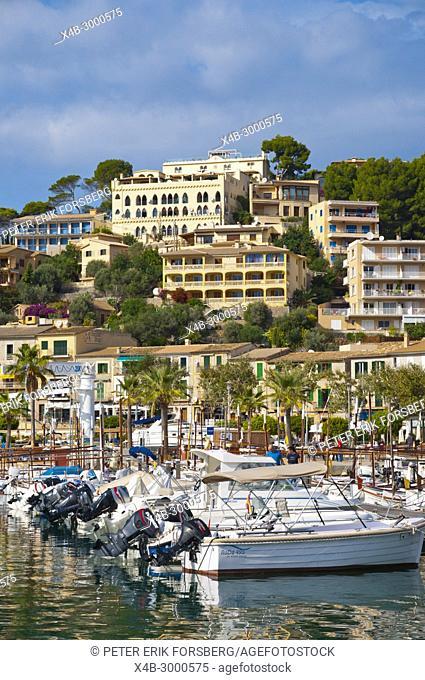 Harbour, Port de Soller, Mallorca, Balearic islands, Spain
