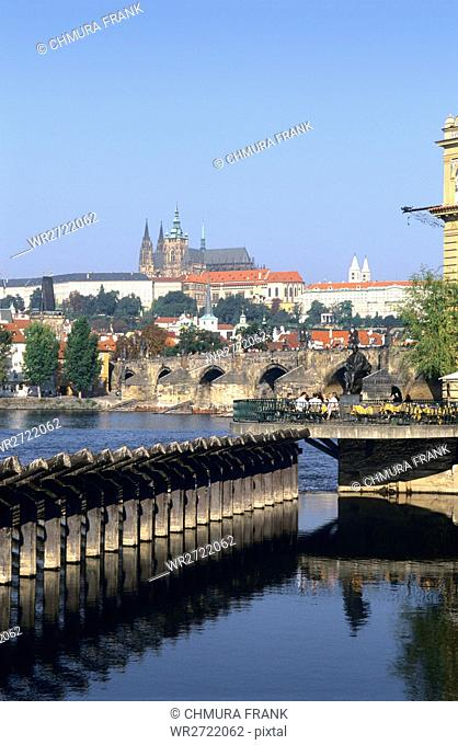 90900059, Czech Republic, Prague, Charles Bridge