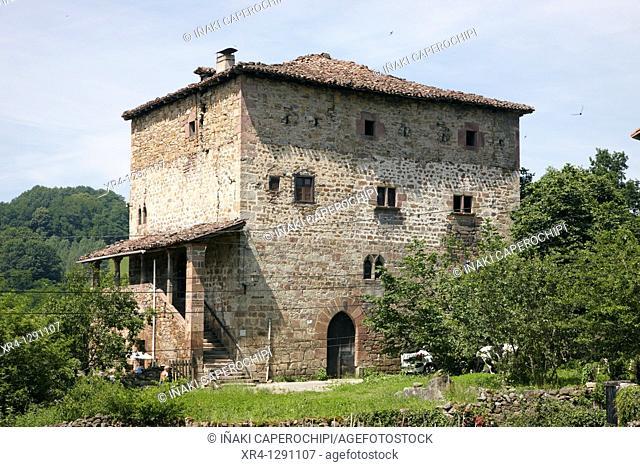 Dorrea Palace, Jauregizar, Irurita, Baztan Valley, Navarra Nafarroa, Spain España