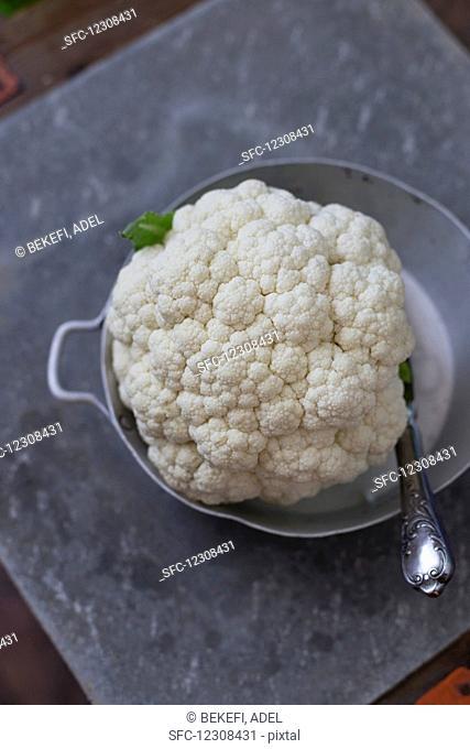 Cauliflower in a bowl