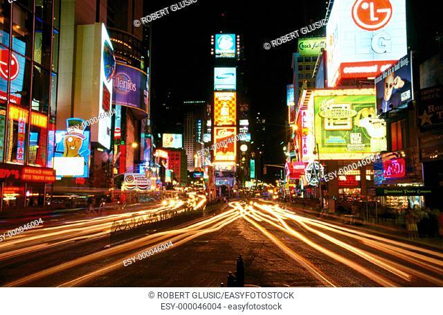 Times Square, Manhattan. New York City. USA