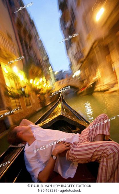 Gondola, Venice. Veneto, Italy