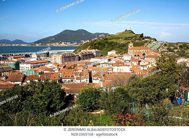 Laredo fishing village, Cantabria, Spain