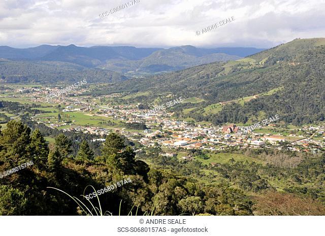 Town of Urubici, Santa Catarina, Brazil