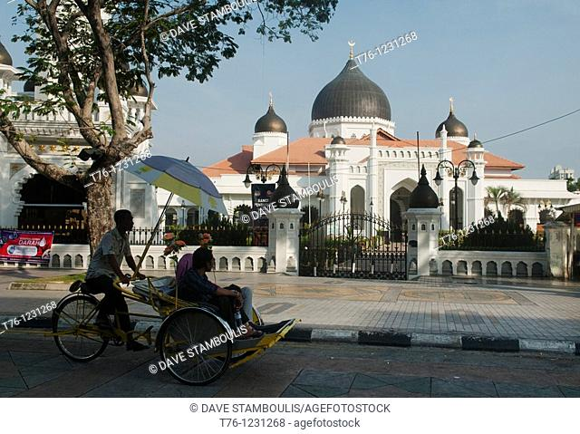 Kapitan Kelling Mosque in Georgetown, Penang, Malaysia