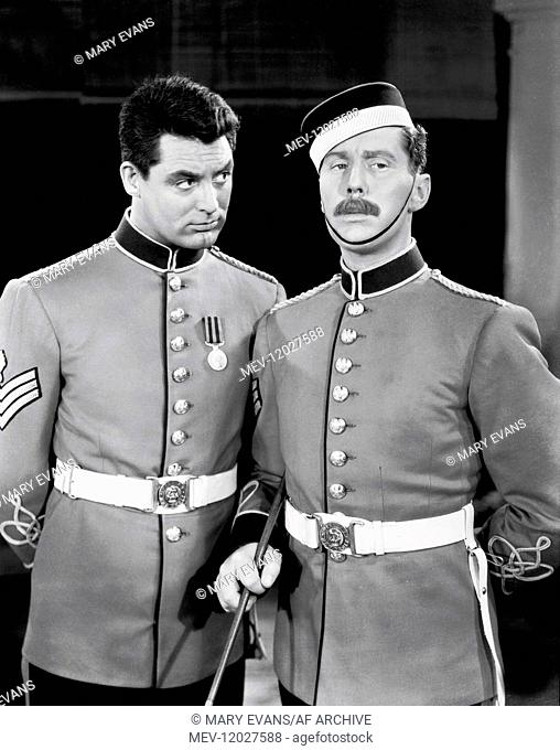 Cary Grant & Robert Coote Characters: Cutter, Higginbotham Film: Gunga Din (1939) Director: George Stevens 24 January 1939