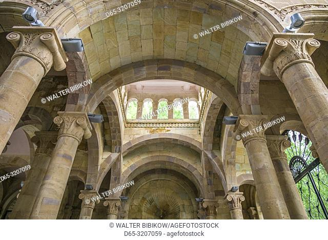 Armenia, Jermuk, mineral water resort town, Gallery of Waters Pavillion