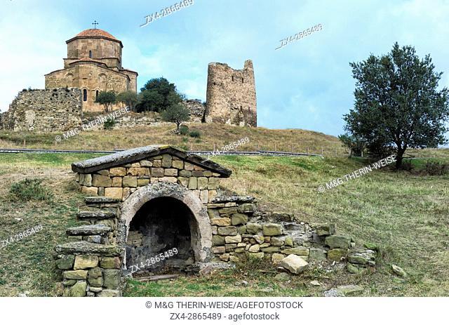 6th century Jvari Monastery, Unesco World Heritage Site, Mtskheta, Mtskheta-Mtianeti province, Georgia