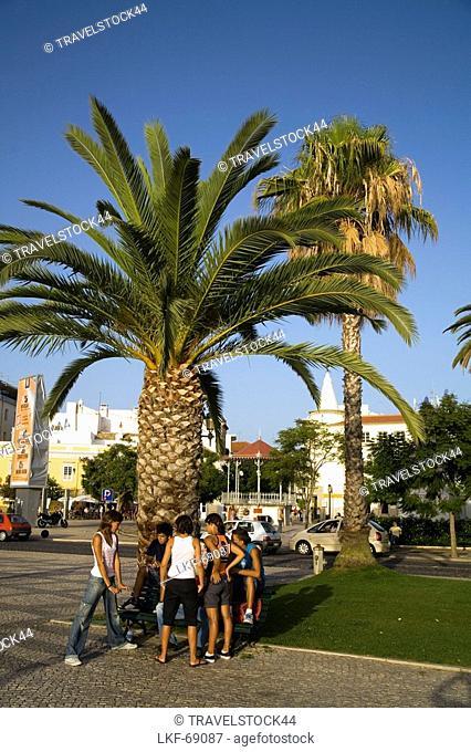 Portugal Algarve Faro Promena, young people, kids
