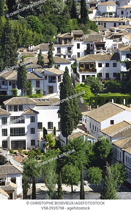 Spain, Andalusia, Granada, World Heritage Site, The Albaicin