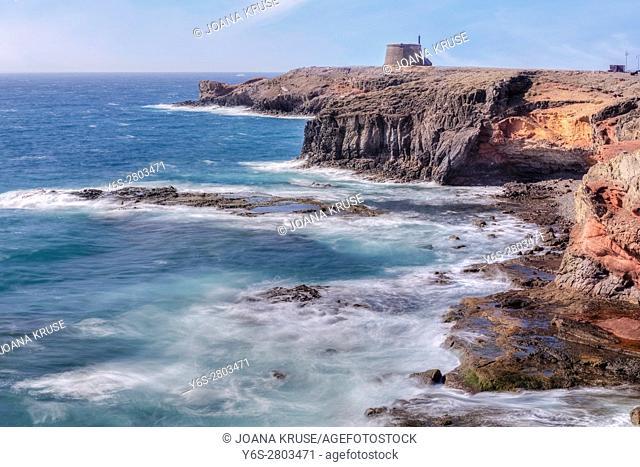 Castillo de las Coloradas, Playa Blanca, Lanzarote, Canary Islands, Spain