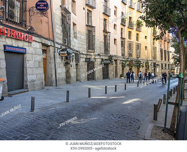 Typical neighborhood of Madrid, Spain