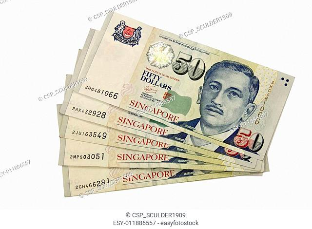 Fifty dollars Singapore
