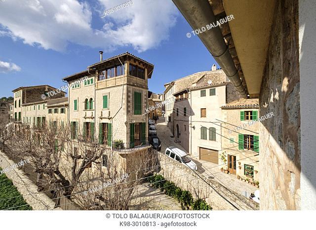 Ca Don Toni Metge, casa señorial, Valldemossa, Mallorca, balearic islands, Spain