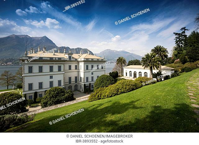 Villa Melzi, Lake Como or Lago di Como, Bellagio, Como Province, Lombardy, Italy