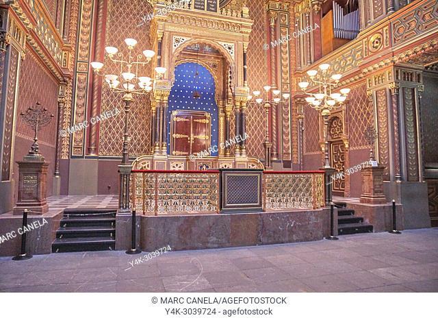 Europe Prague, Czech Republic, Spanish synagogue