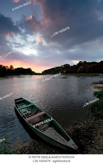 Drohiczyn on the Bug river  Podlasie region  Poland