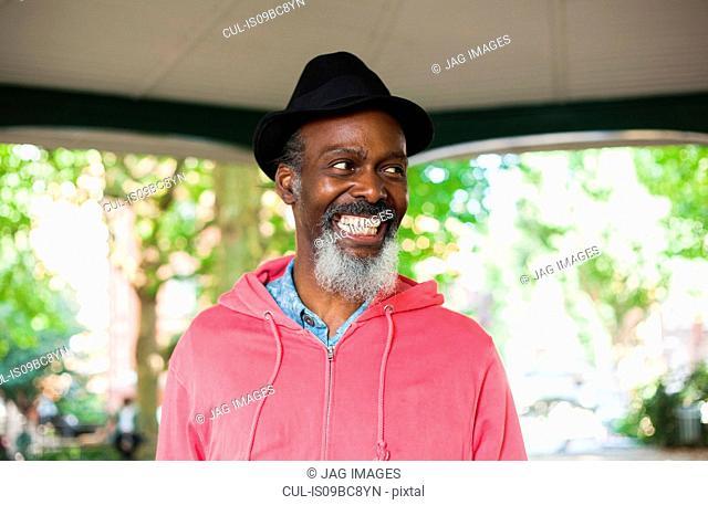 Portrait of mature man, smiling