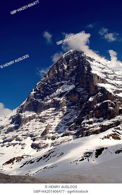 Europe - Switzerland - Alps - North Face of Eiger (3970m)