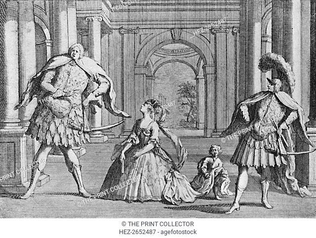 'Senesino on the Stage', 1725, (1904). Francesco Bernardi, (31 October 1686 - 27 November 1758) was a celebrated Italian contralto castrato