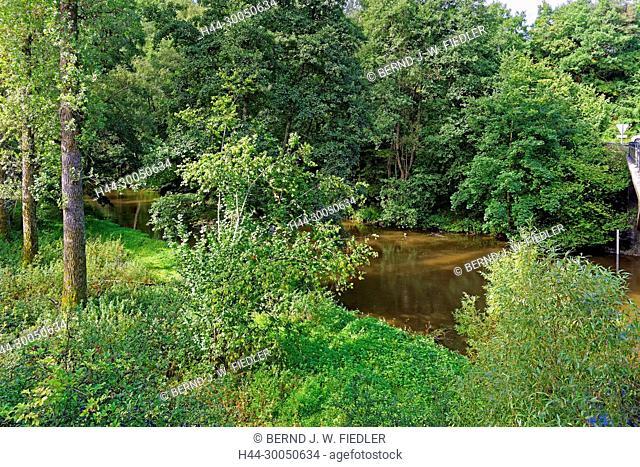 River, Ourthe, Pont de Rensiwez, Houffalize Belgium