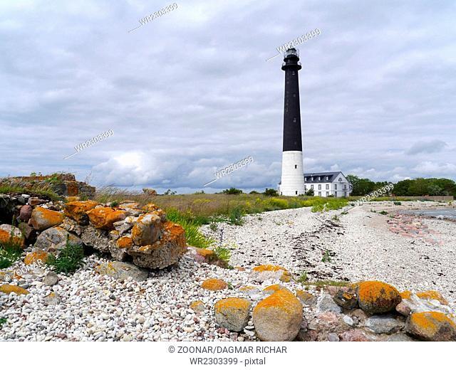 lighthouse Sõvre, Sääre, Estonia